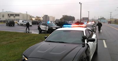 Police at Dothan Prep