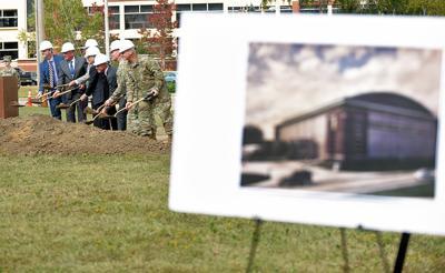 Ground breaking for training center at Fort Rucker