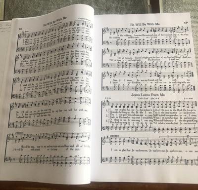 hymnal photo