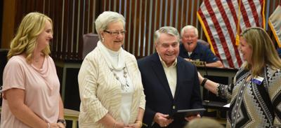Longtime Planning Commission member honored