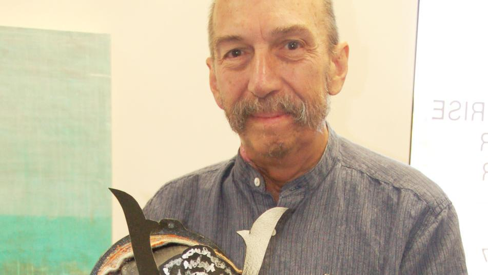 Local cancer patient finds strength in art, positivity