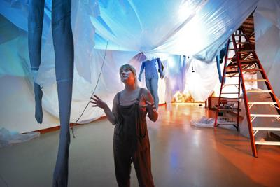 Take a dip in Jenny Fine's imagination with latest museum exhibit