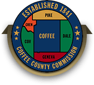 Coffee County Commission logo