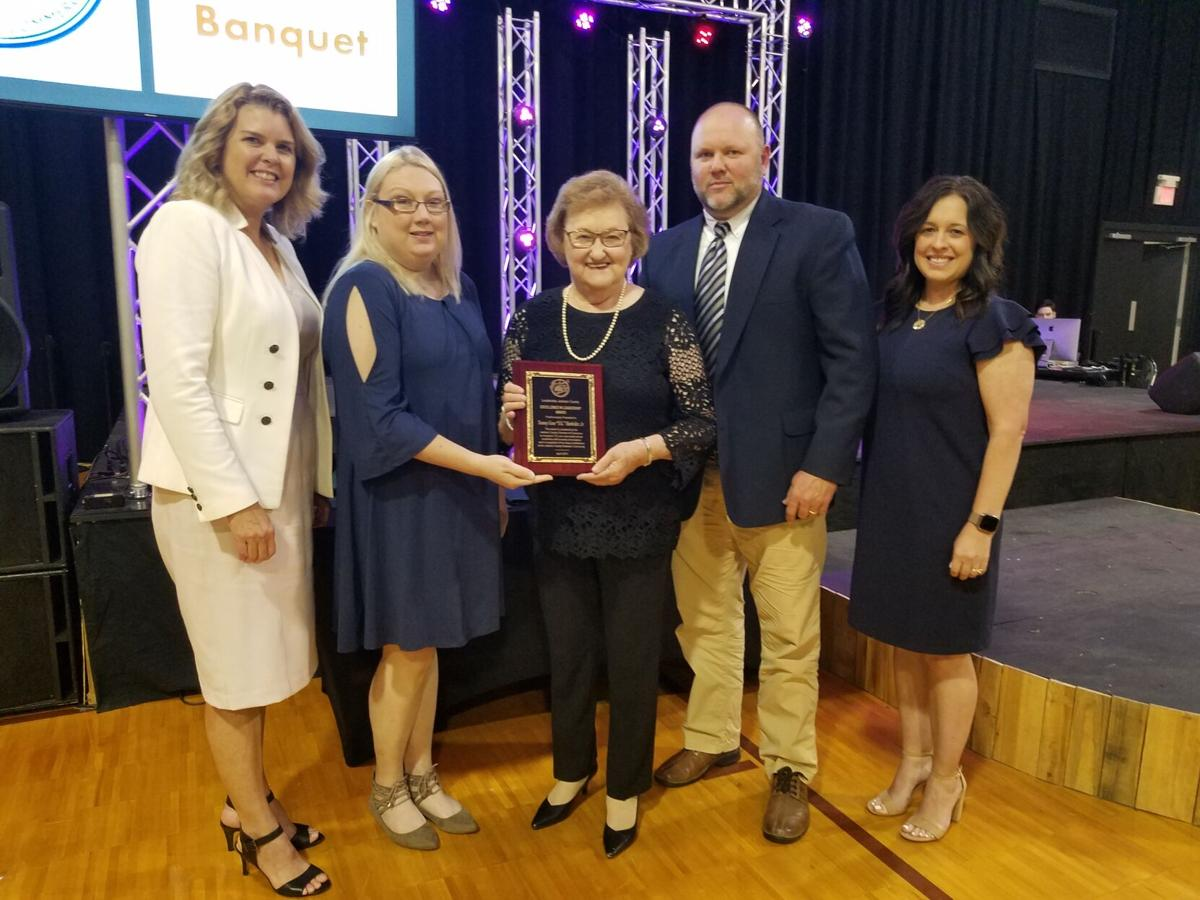 Harkrider posthumously honored by Chamber