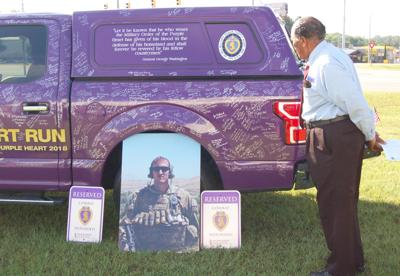 Ed Sherling Ford >> Purple Heart Legacy Truck Visits Ed Sherling Ford