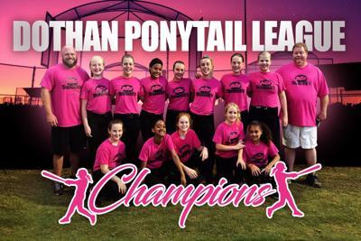 2019 Dixie Girls Ponytails League Champions