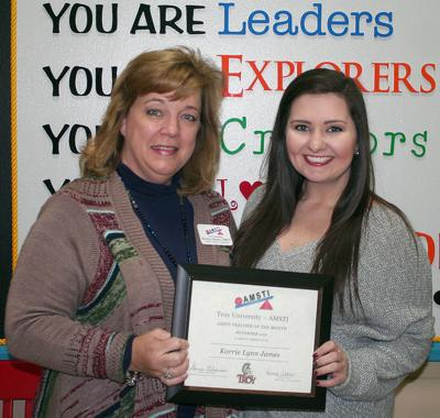 holly hill teacher honored by troy amsti news