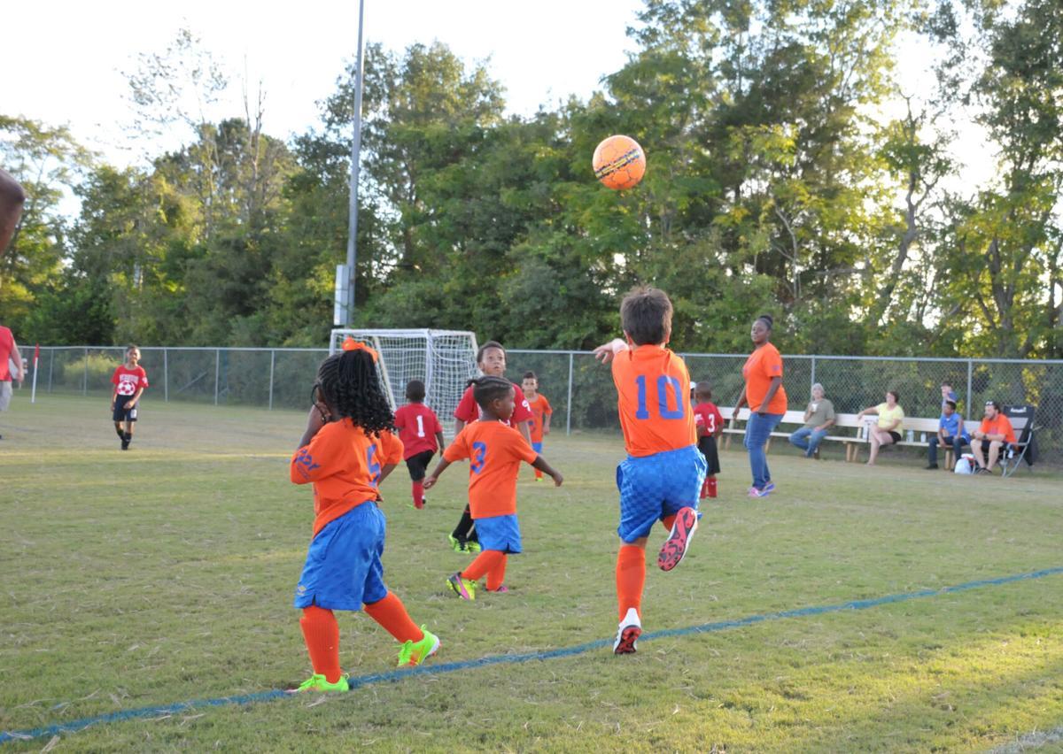 Kids love soccer