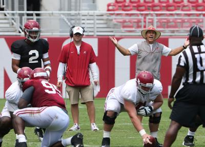 Tide Youngsters Struggle In First Scrimmage University Of Alabama