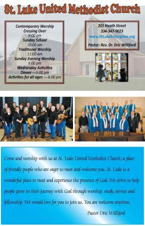 St. Luke UMC Ad
