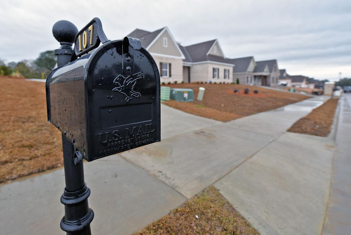 Mail not being delivered to new subdivision