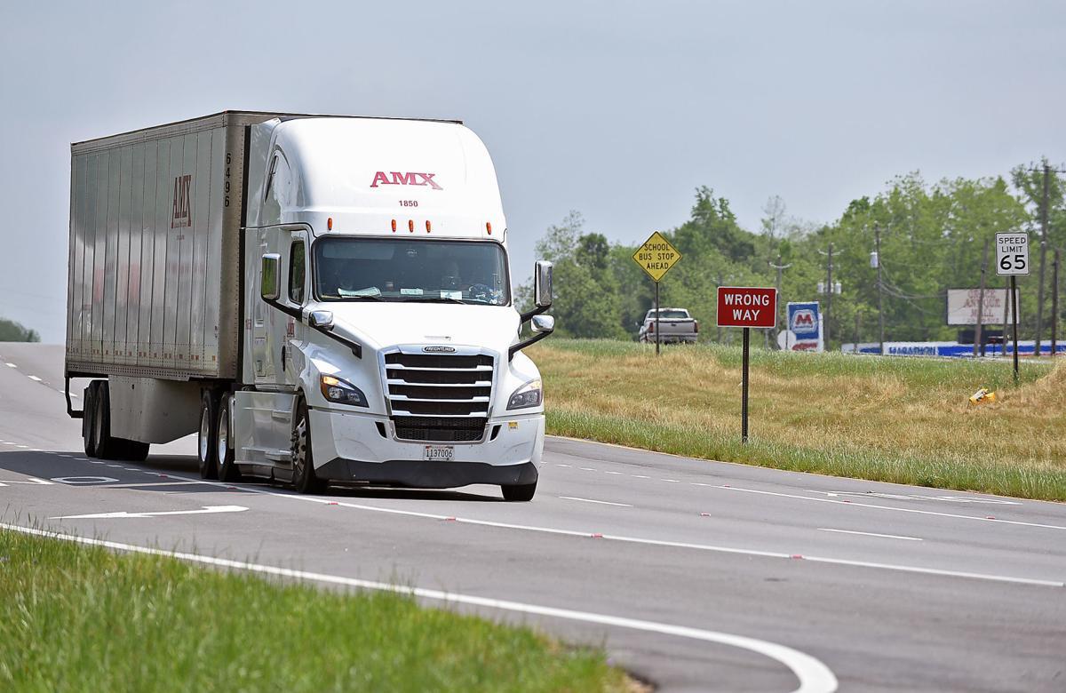 Truckers roll on during coronavirus pandemic