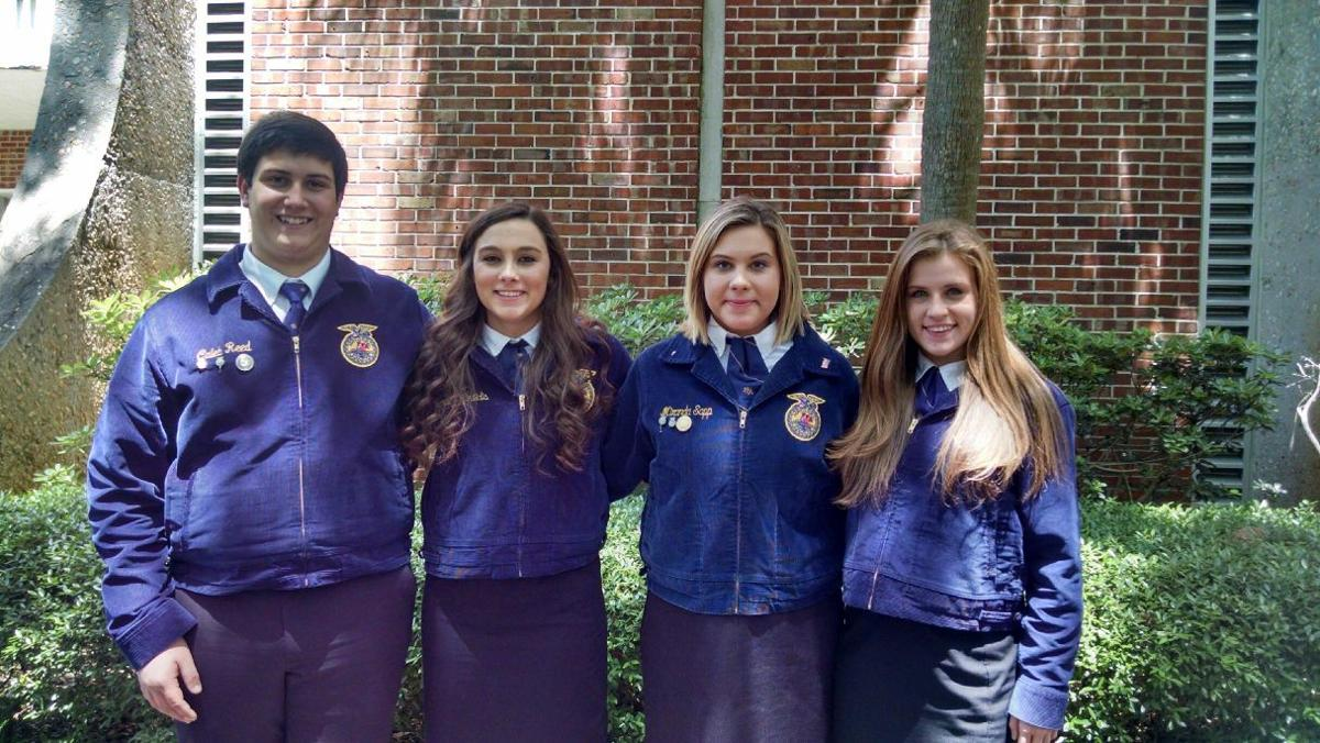 714980e26311 Cottondale FFA Wins State Championship. State winning Agriculture Sales ...