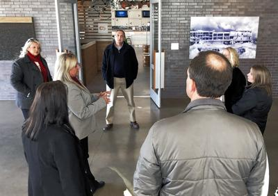 City leaders tour Bentonville