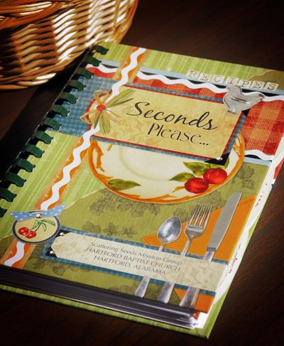 """Seconds Please …"" cookbook"