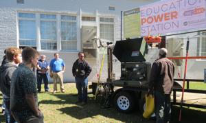 Wiregrass Electric presented program to EHS electrical class