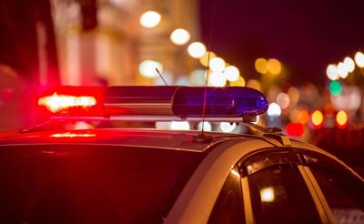 Crime police lights