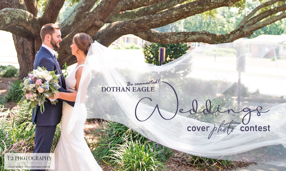 Submit your photo, it could be featured on our 2021 WEDDINGS magazine cover