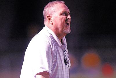 Houston Academy defensive coordinator Marc Edge