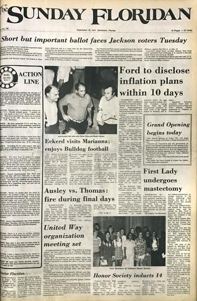 From the Floridan archives: 1974