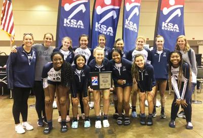 EHS volleyball competes against nationwide talent