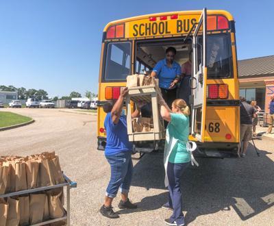 Dothan City School Food Bus