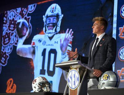 Bo Nix at SEC