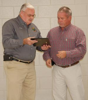 Blair retires from county's Environmental Services