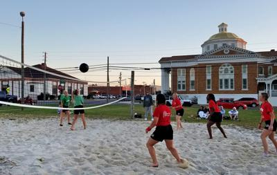 Chipola's softball champs play 'medicine ball' to build power