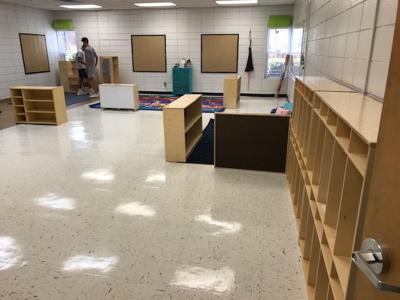 Dale county pre-k classroom