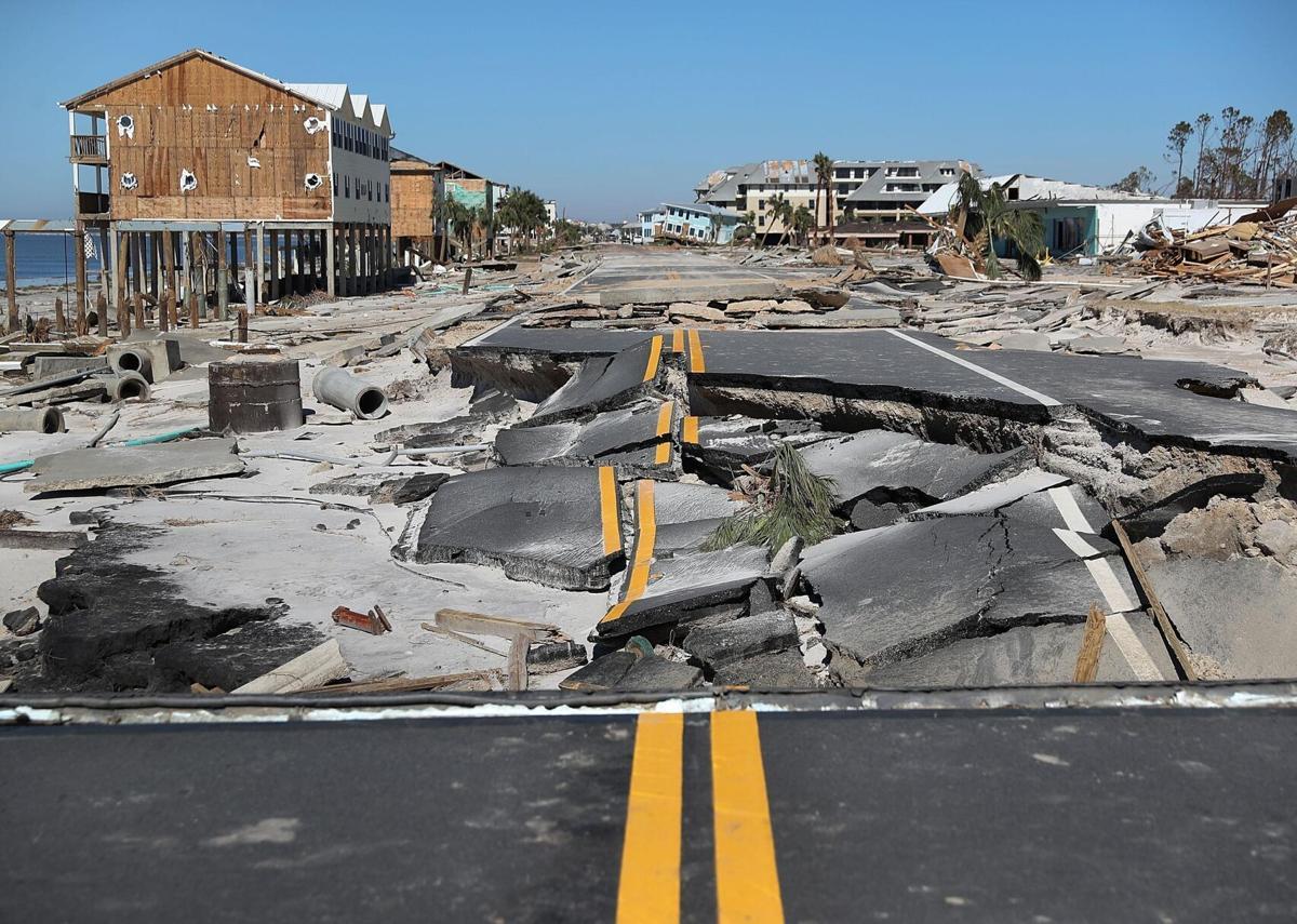 2018: Hurricane Michael hits Florida Panhandle