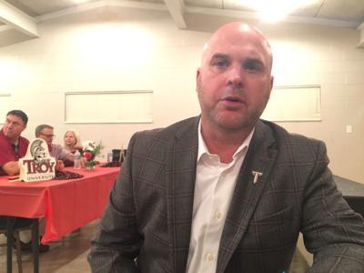 Troy coach Chip Lindsey