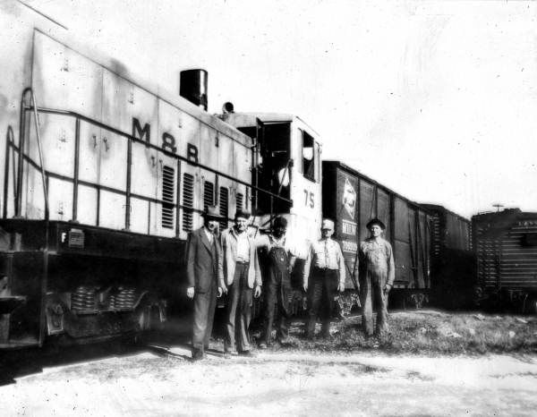 M&B Engine No. 75