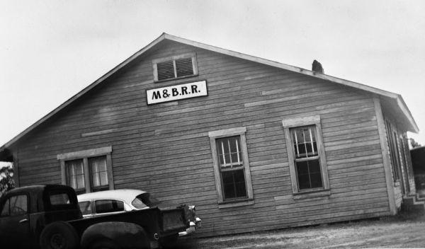 M&B Railroad office