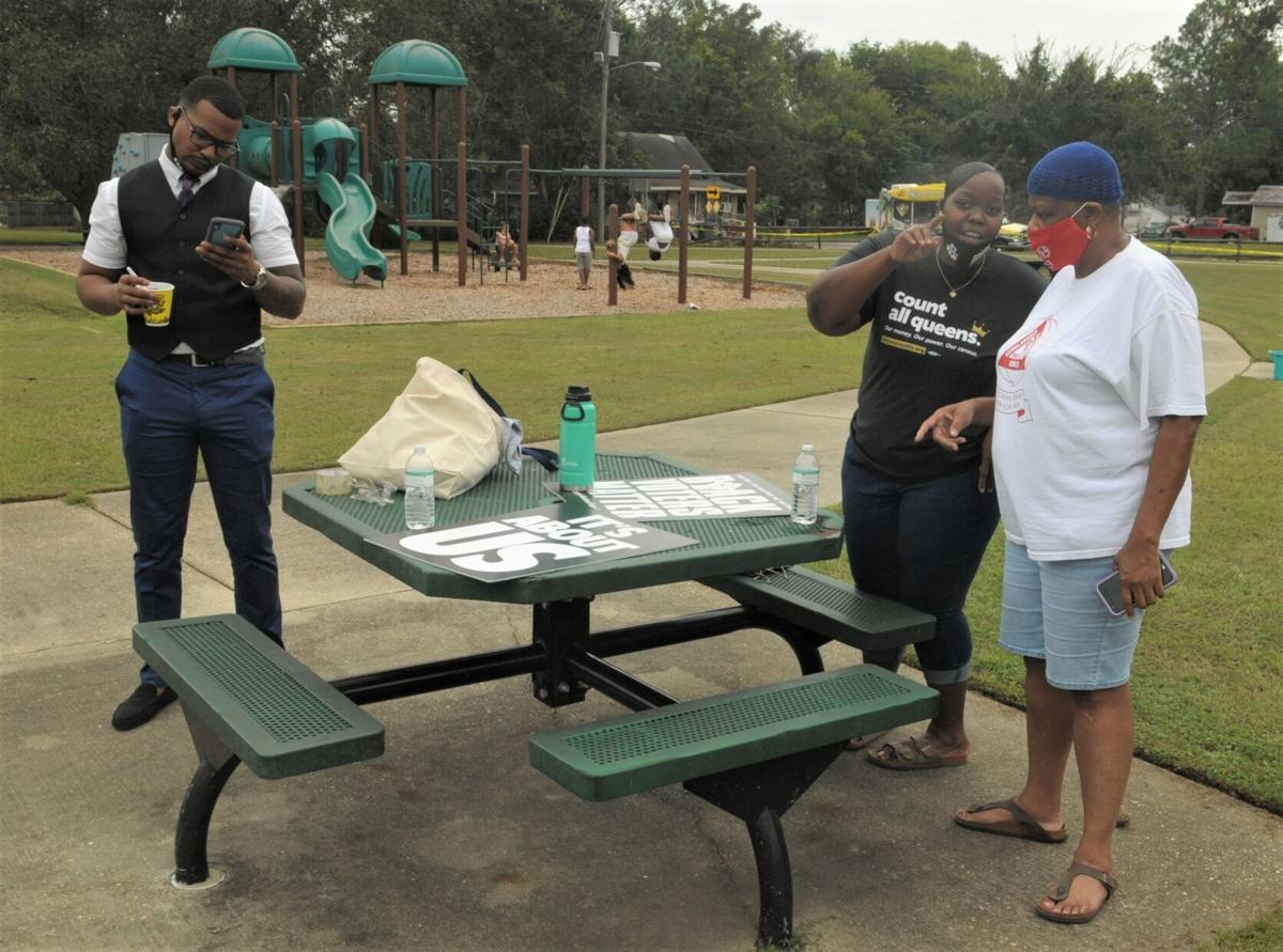 League of Women Voters hosts block party, voter services event
