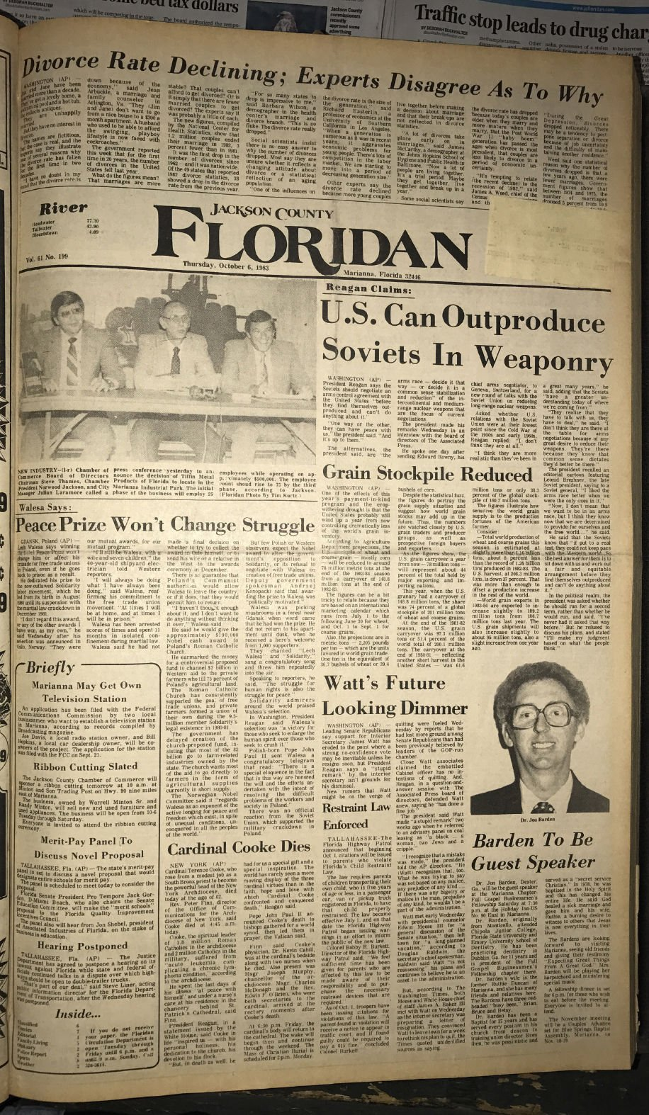 Archives: Oct. 6, 1983