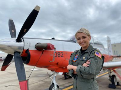 Securing the future: The next class of female Naval aviators