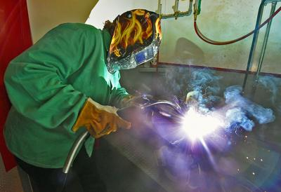 Wallace brings welding to downtown