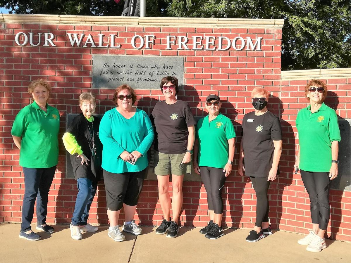 Luncheon Pilots participate in PIFF Walk