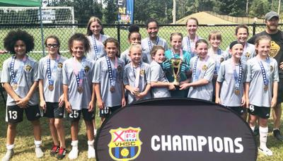 Enterprise Select Soccer compete in the Liberty Cup tournament