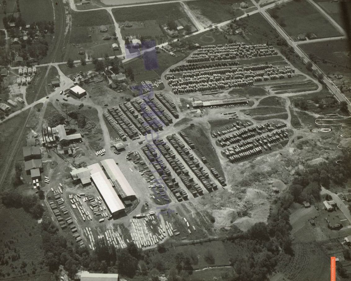 Answer Man: What lumber company used to operate next to the railroad tracks on Fortner Street?