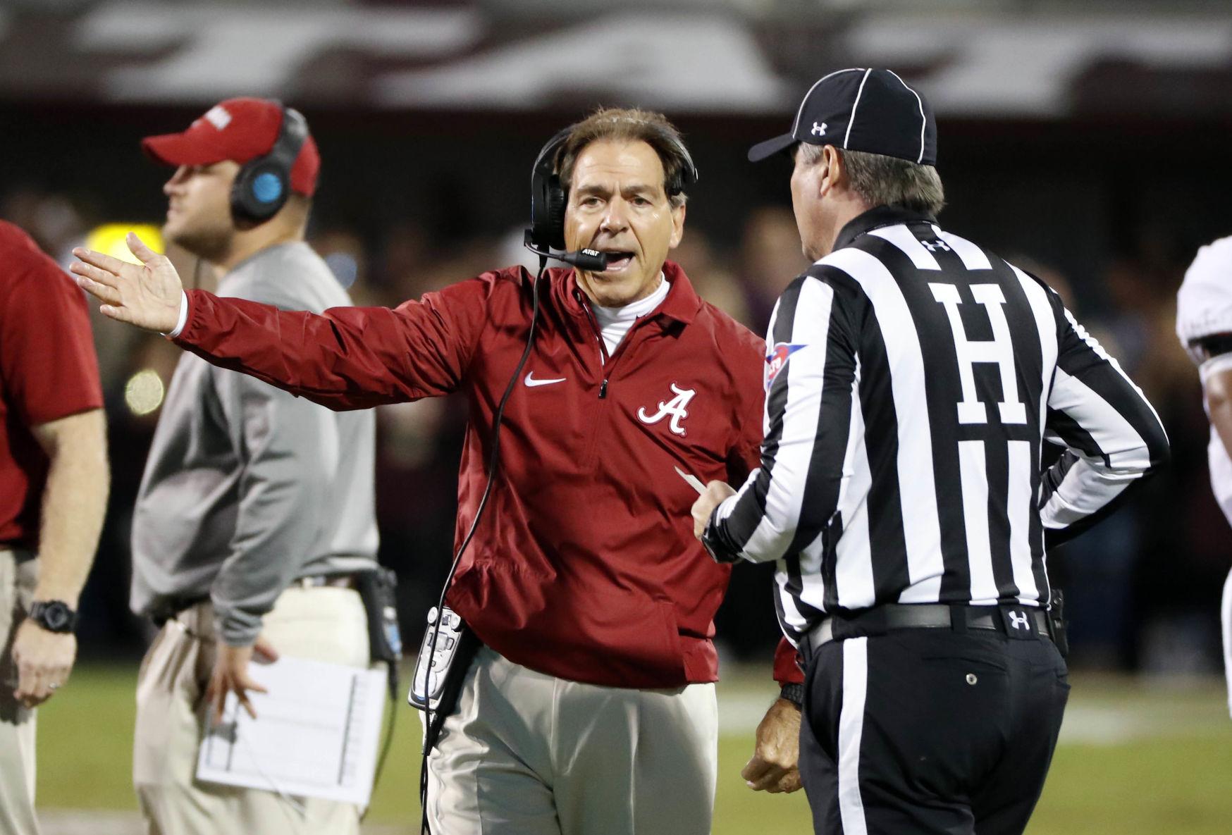 Alabama Coach Nick Saban Makes Case For College Football Playoff Berth  Nick Saban Resume
