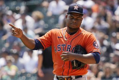 Framber Valdez Houston Astros