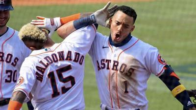 Houston Astros advance to the ALCS