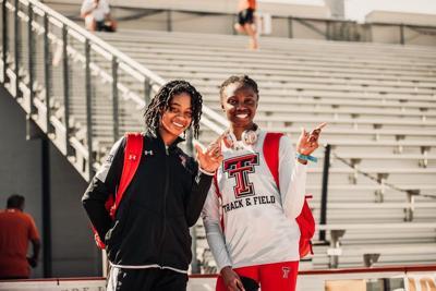 Ruth Osoro, Monae Nichols Track & Field