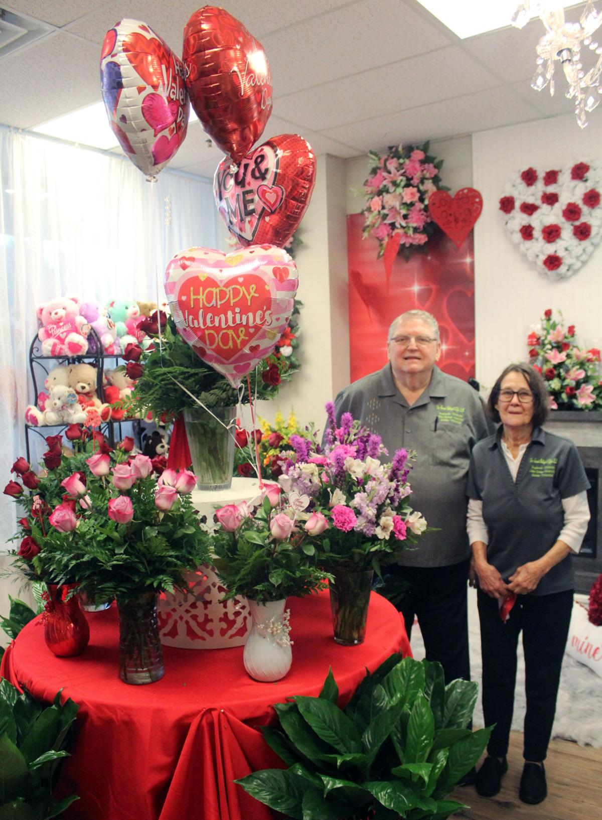 Flower sales bloom for Valentine's Day: Local florists doing brisk business despite shortage caused by COVID