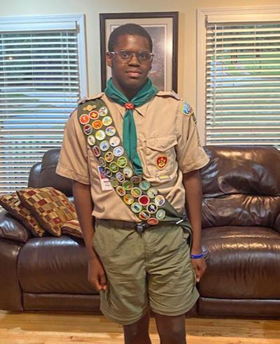 Dumas achieves rank of Eagle Scout