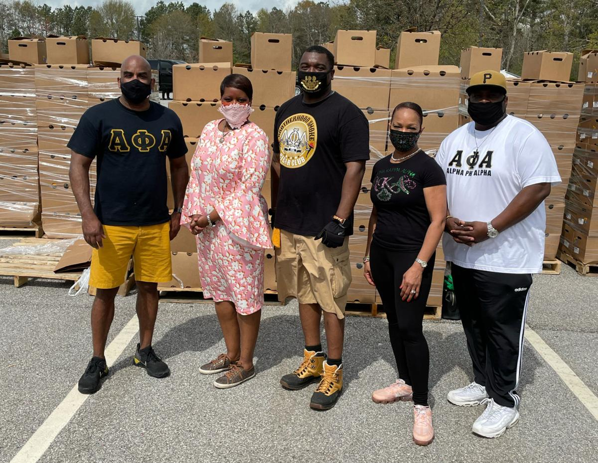 Over 1,000 food boxes to Douglasville residents
