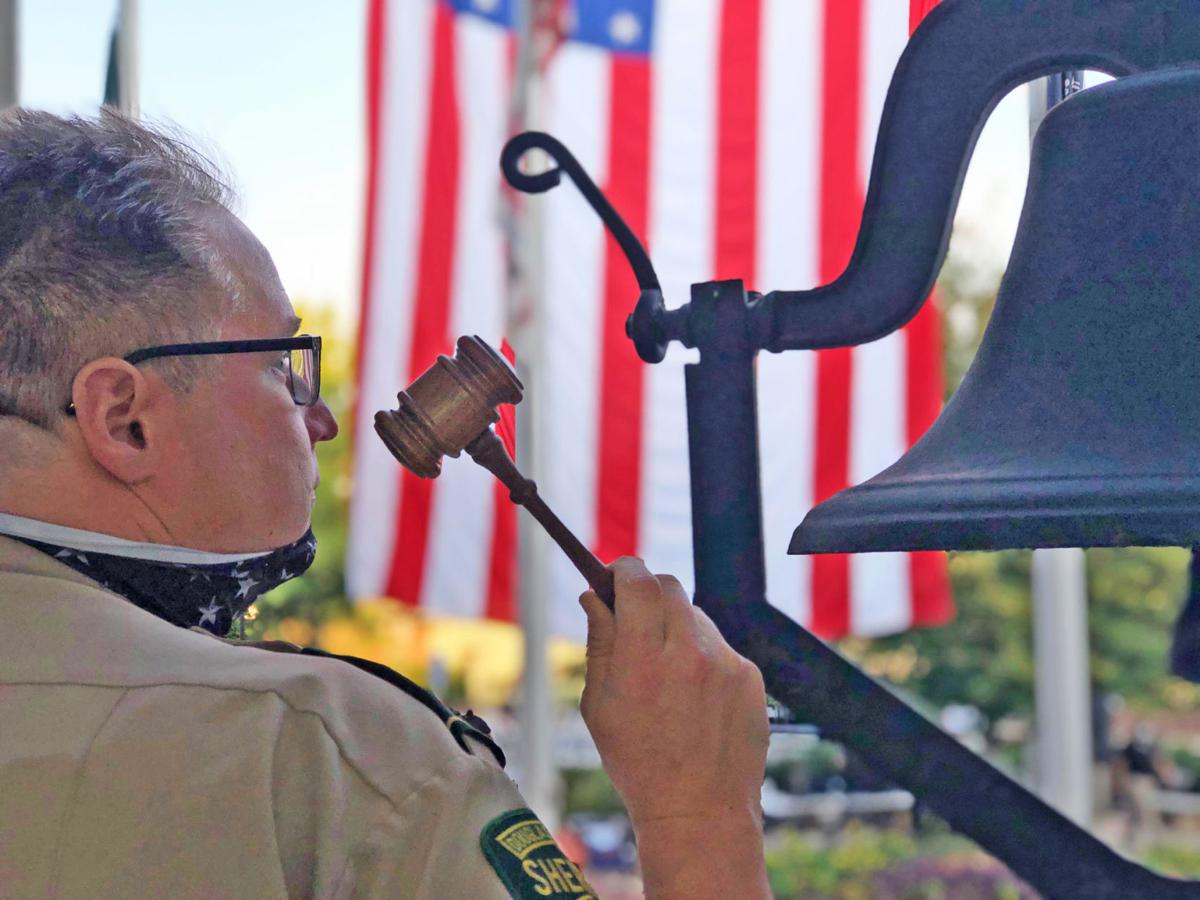 American pride, need for unity prevalent themes during Douglas County's 9/11 ceremony