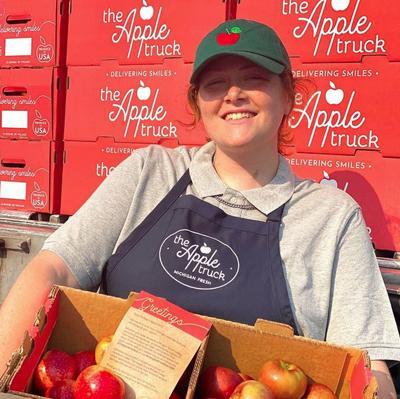 The Apple Truck stopping in Douglasville on Sunday